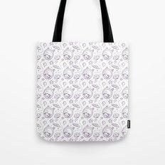 space kid pattern Tote Bag