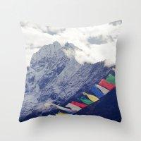 Elevation Throw Pillow