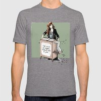 Comme Une Rengaine... Mens Fitted Tee Tri-Grey SMALL
