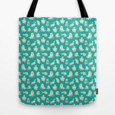 Kiba The Blind Shiba, Concept Art Tote Bag