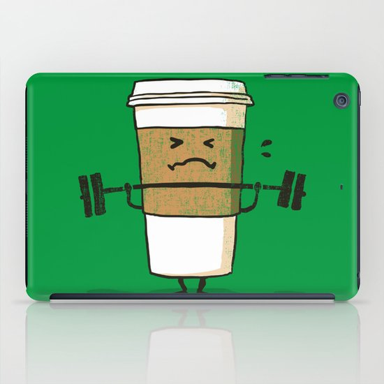 Strong Coffee iPad Case