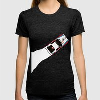 037 Womens Fitted Tee Tri-Black SMALL