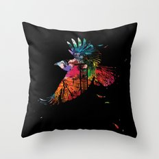 Escape The City Throw Pillow