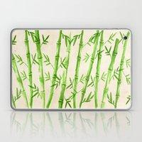 Bamboo Pattern Laptop & iPad Skin