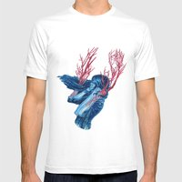 Her Arms Became Trees Mens Fitted Tee White SMALL