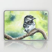 Green Bird Laptop & iPad Skin