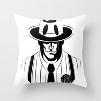 The Gangster Way Throw Pillow