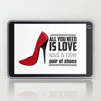 All you need is love! Laptop & iPad Skin