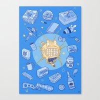 ED-E my love Canvas Print