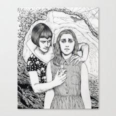 The Girl Who Had No Voice Canvas Print