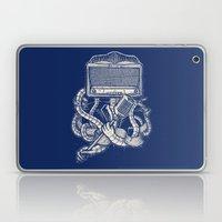 Rocker Robot Navy Laptop & iPad Skin