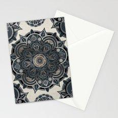 Silver Mandala Stationery Cards