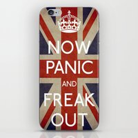 NOW PANIC AND FREAK OUT iPhone & iPod Skin