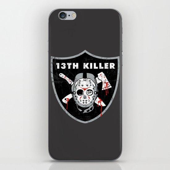 13th Killer iPhone & iPod Skin