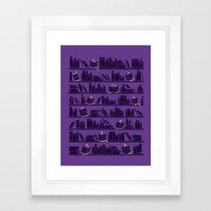 Bookworms Framed Art Print