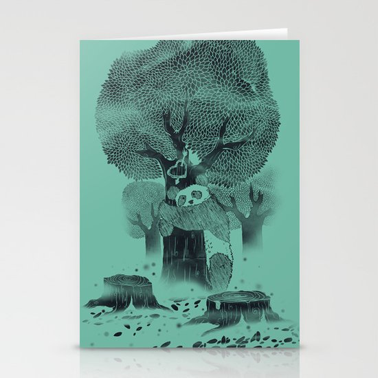 The Tree Hugger Stationery Card