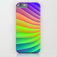 iPhone & iPod Case featuring Color Wave by Objowl