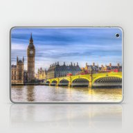 Westminster Bridge And B… Laptop & iPad Skin