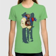 Skullgirl Womens Fitted Tee Grass SMALL