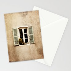 Window with Shutters and Teapot Stationery Cards