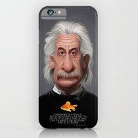 Celebrity Sunday ~ Albert Einstein Genius Fish iPhone 6 Slim Case