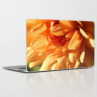 Vermont Autumn Golden Fl… Laptop & iPad Skin