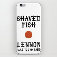 Shaved fish iPhone & iPod Skin