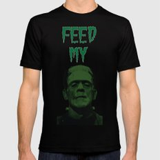 Feed My Frankenstein Mens Fitted Tee Black SMALL