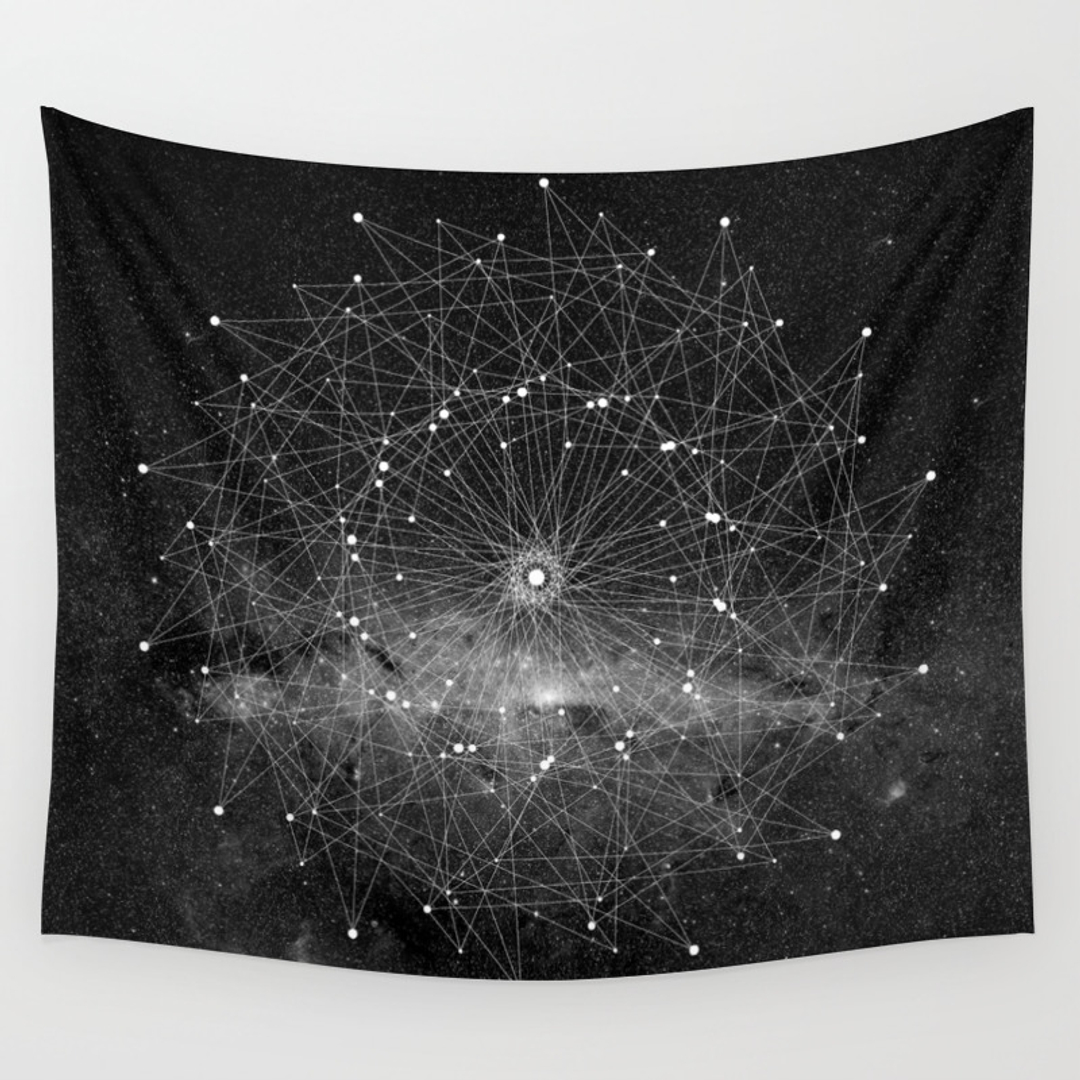 Black White Wall Tapestries Society6