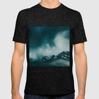 wild peaks Mens Fitted Tee Tri-Black SMALL