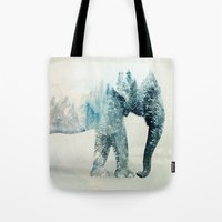Vanishing Elephant  Tote Bag