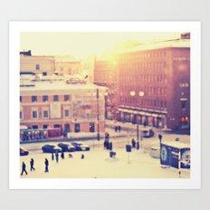 Helsinki Art Print