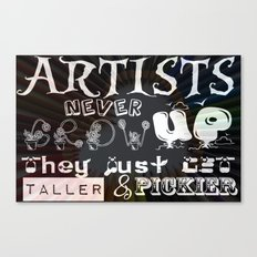 Never Grow Up Canvas Print