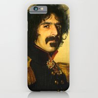 iPhone Cases featuring Frank Zappa - replaceface by replaceface