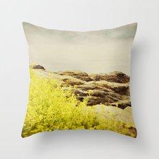 Sea Swept Throw Pillow