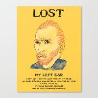Where Did It Gogh? Canvas Print