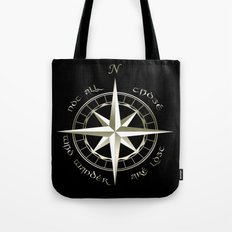 Not all those who wander are lost - J.R.R Tolkien - 2 Tote Bag