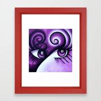 Expressive Eyes Framed Art Print