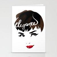 Bombshell Series: Elegan… Stationery Cards