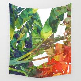 Wall Tapestry - Bananas leaves - takmaj