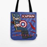 Captain Americana Tote Bag