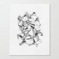 Art of Geometry 5 Canvas Print