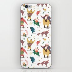 The Circus is coming to town! iPhone & iPod Skin