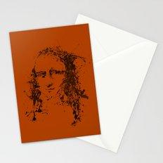Modern Lisa (orange) Stationery Cards