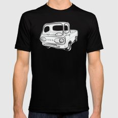 econoline pick-up Mens Fitted Tee Black SMALL
