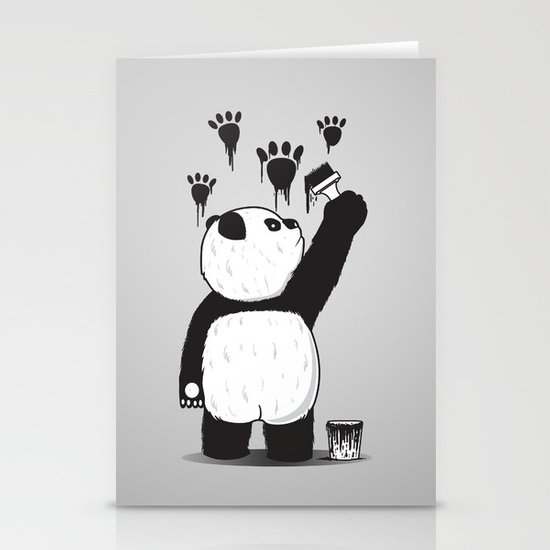 Pandalism Stationery Card