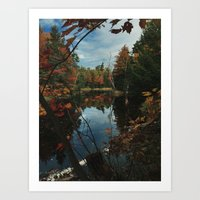 New York Fall Art Print