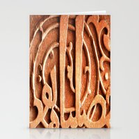 Carved In Stone  Stationery Cards