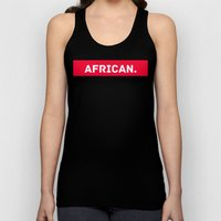 AFRICAN Unisex Tank Top