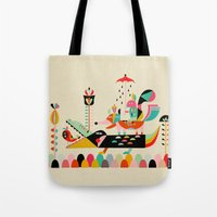 Wired Jungle Tote Bag